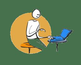 Animacion con el teletrabajo